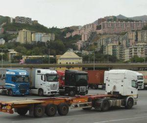 L'autotrasporto ligure annuncia il fermo contro caos autostrade