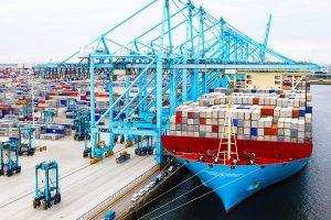 Il porto di Rotterdam ha perso il 3% dei container nel 2020