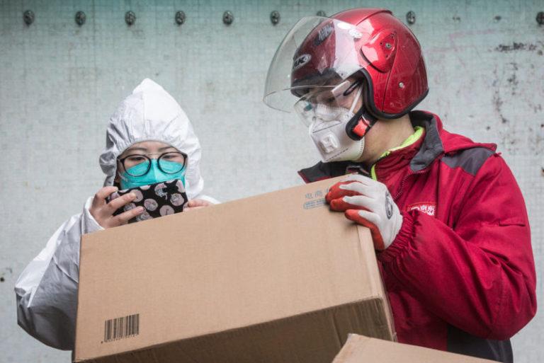 maschera antivirus consegna domani