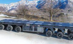 Nuovo modulare Cometto per trasporto eccezionale