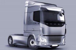 Arriveranno in Europa i camion a idrogeno  Hyzon