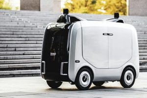 Alibaba svela un robot per le consegne
