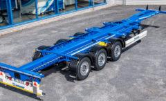 Krone presenta portacontainer allungabile e leggero