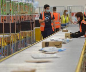 Amazon apre la piattaforma logistica di Genova