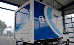 Minicontainer Krone per la logistica urbana