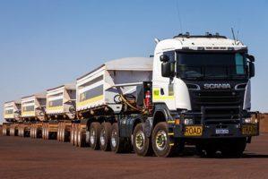 Australia sperimenta i droni per i controlli su strada di camion