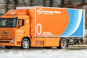 Gebrüder Weiss prova il camion a idrogeno in Svizzera