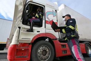 Controlli europei sui camion dal 10 al 16 maggio