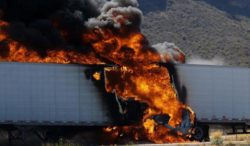 Come prendono fuoco i veicoli industriali