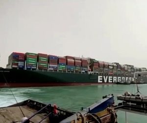 L'Egitto sequestra la portacontainer Ever Given
