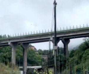 L'autostrada A12 riapre ai camion tra Sestri Levante e Lavagna