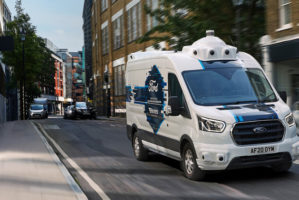 Ford e Hermes sperimentano furgone a guida autonoma