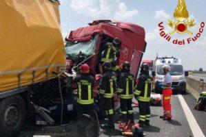 Quaranta morti sul lavoro nel trasporto nel 1° semestre