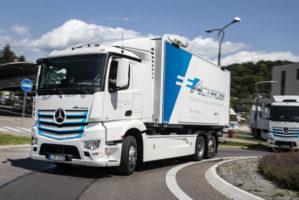 A giugno Mercedes Trucks presenterà l'Actros elettrico